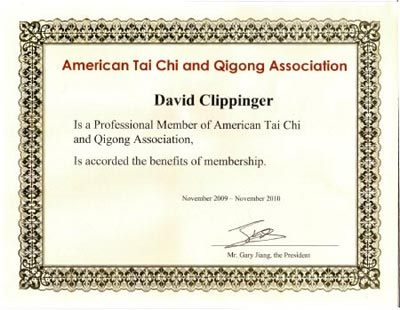 American T'ai Chi and Qigong Society