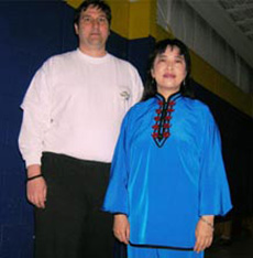 Master Helen Wu and David Clippinger